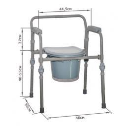 Стул-туалет складной OSD -RB-2110