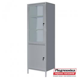 Шкаф медицинский с сейфом ШМ-1С, Zavet