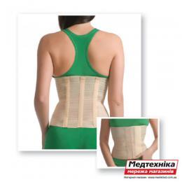 Бандаж поясничный с 3-мя ребрами жесткости 4001 Med textile