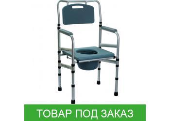 Складной стул-туалет OSD-LY901 с мягким сиденьем