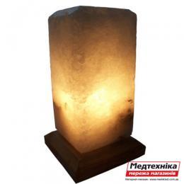 Лампа соляная Прямоугольник 3 кг цветная