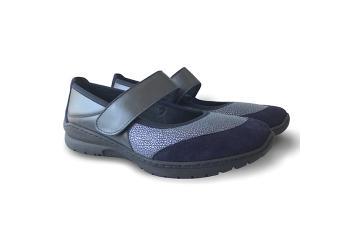 Обувь взрослая демисезонная анатомическая Softmode (Софтмод) Boston синяя