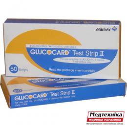 Тест полоски Glucocard N50