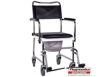 Кресло-каталка OSD-JBS367A с санитарным оснащением