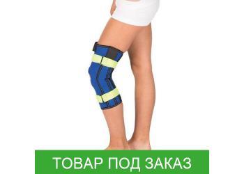 Бандаж на коленный сустав Тривес Т-8532 с металлическими шарнирами, детский