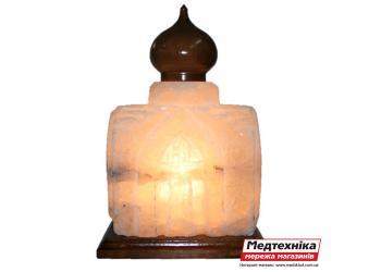 Лампа солевая Храм 9 кг