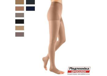Характеристики. Колготки mediven elegance с заниженной талией, 2 класс, открытый носок,Medi