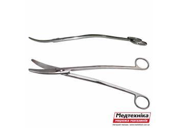 Ножницы для рассечения вертикальные изогнутые 24 см Н-10