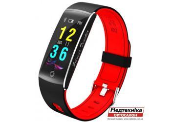 Фитнес-браслет Mavens F10 красный