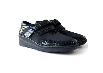 Обувь взрослая демисезонная анатомическая Softmode (Софтмод) 1170 чёрная