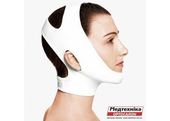 Компрессионный бандаж для лица и шеи Aurafix LC-1800 после липосакции   Аурафикс