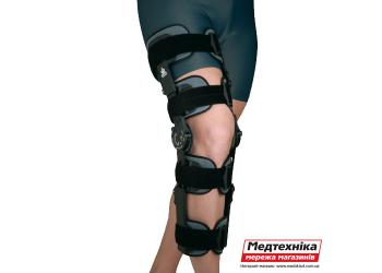 Армированный коленный ортез с ограничителем 94260, Orliman