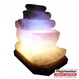 Лампа соляная Кораблик 4-5 кг цветная