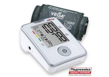 Автоматический тонометр Vega VA-330 с адаптером