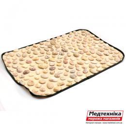 Массажный коврик «Натуральная галька» 60х40 см