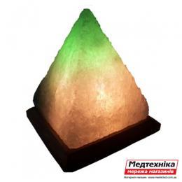 Лампа солевая Пирамида 5-6 кг цветная
