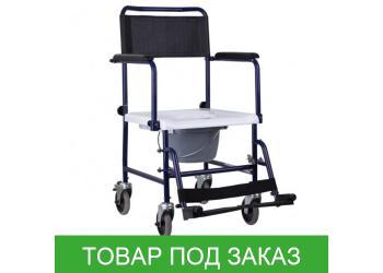 Кресло-каталка OSD-MOD-JBS367A с санитарным оснащением MOD JBS