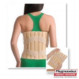 Корсет Med textile 3011 люкс эластичный с 4 ребрами жесткости