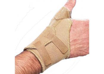 Характеристики. Бандаж лучезапястный Med textile МТ8552 с фиксацией пальца