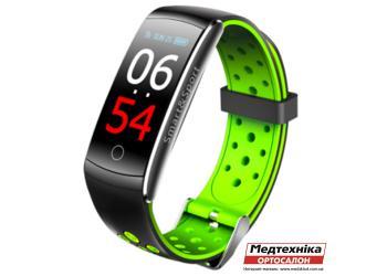 Фитнес-браслет Mavens Q8 Plus зеленый