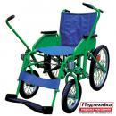 Дорожная инвалидная коляска мод. 178 с рычагами