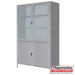 Шкаф медицинский двустровчатый с сейфом ШМ-2С, Zavet