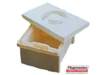 Емкость-контейнер для дезинфекции ЕДПО-1-01 1 литровый
