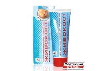 Крем-бальзам «ЖИВОКОСТ» с хондроитином