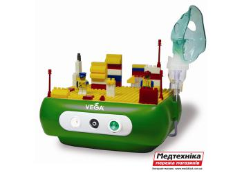 Детский компрессорный ингалятор Конструктор Vega Kids Funny Constructor CN03D