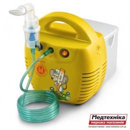 Ингалятор компрессорный Little Doctor LD-211C желтый