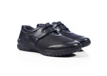 Обувь взрослая демисезонная анатомическая Softmode (Софтмод) Bossa чёрная/белая
