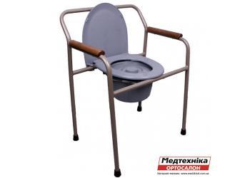 Стул-туалет Medok MED-04-011 | MED-41-06 складной регулируемый