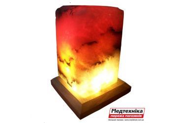 Лампа соляная Прямоугольник 4-5 кг цветная