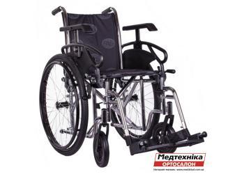 Характеристики. Инвалидная коляска OSD-STC3-** Millenium-III, механическая