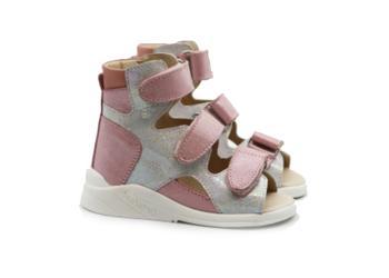 Обувь Сандали ортопедические ОРТОФУТ 121 Active Rose Silver