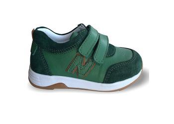 Детские ортопедические кроссовки демисезон, зелёные Ozpinarci (Оспинарджи) 109-02