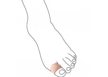 Муфта антимозольная URIEL для деформированных пальцев стопы 365 XL