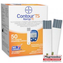 Тест-полоски Contour TS №50