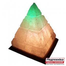Лампа соляная Пирамида Египетская 5 кг цветная