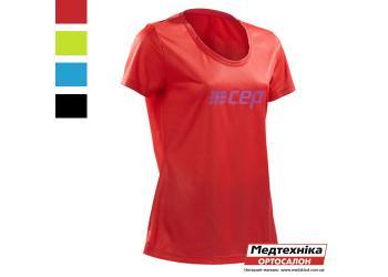 Компрессионная футболка CEP CB81W для бега женская
