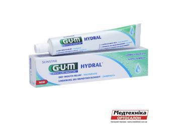 Зубная паста GUM Hydral при повышенной сухости во рту, 75 мл