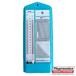 Гигрометр психрометрический ВИТ-1, Стеклоприбор