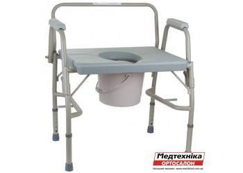 Усиленный стул-туалет OSD-BL740101 для полных людей