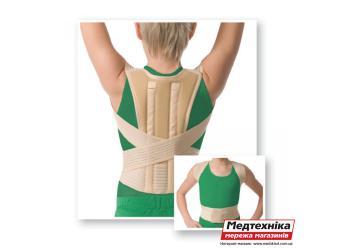 Корректор осанки детский с ребрами жесткости Med textile 2005