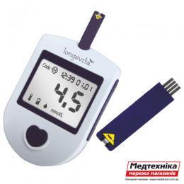 Глюкометр Longevita + тест-полоски №25