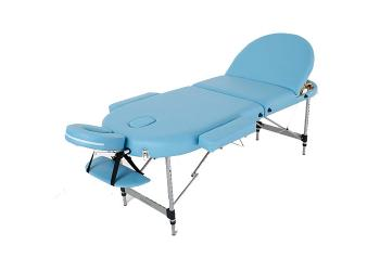 Стол массажный RelaxLine Oasis голубой