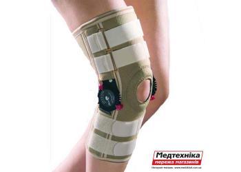 Фиксатор коленного сустава с изменяемым углом сгибания OSD 0019
