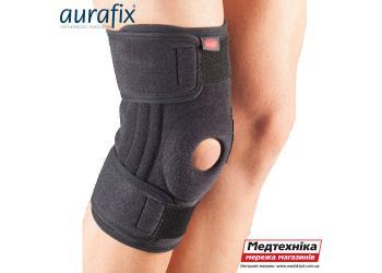 Характеристики. Ортопедический наколенник Aurafix 3103 с силиконовым кольцом и 4 ребрами жесткости | Аурафикс