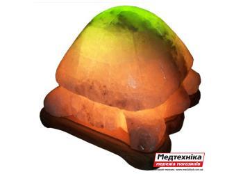Лампа соляная Черепаха 4-5 кг цветная