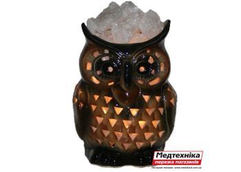 Лампа солевая Сова малая 3 кг